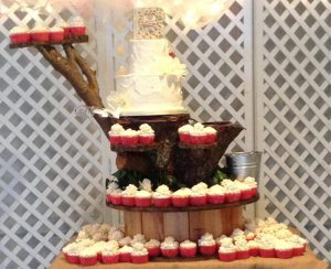 Cake tower make by Chris Lasage
