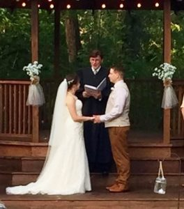 Reverend Dan an officiant to perform your wedding