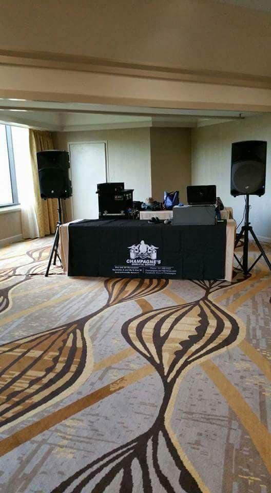 Lafayette Louisiana based DJ Champagne's Dj Service