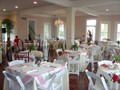 A bridal brunch setup at wedding venue Esprit de Coeur located in Lafayette, Louisiana
