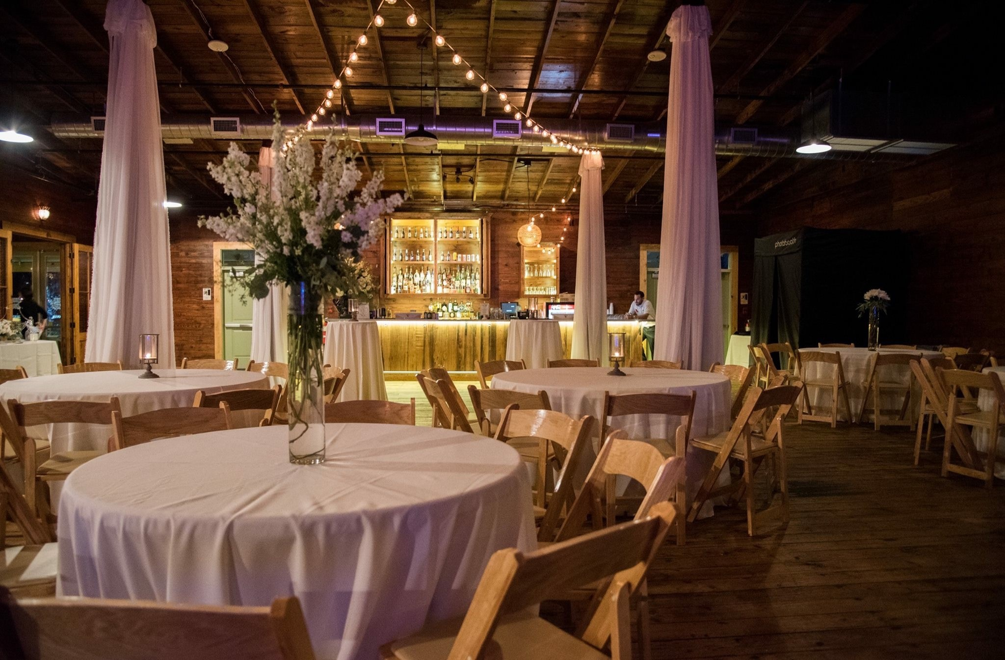Crazy wedding venue decorated at warehouse 535 located near lafayette louisiana