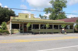 An outside view of the wedding venue Brent's Catering and venue located in Sunset, Louisiana near Lafayette.