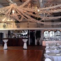 Awesome wedding venue Sunny Meade decorated for a wedding in Lafayette, Louisiana.