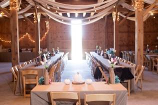A wedding setup at farm style wedding venue, Brent's Catering and Venue in Sunset, Louisiana.