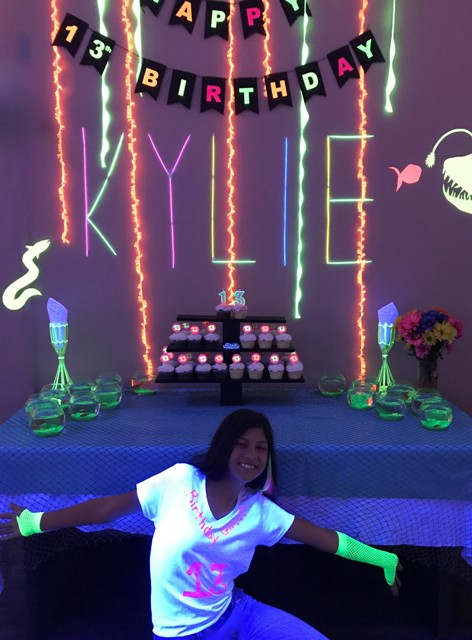 A teenage birthday party held at DIY Party venue located in Lafayette, La