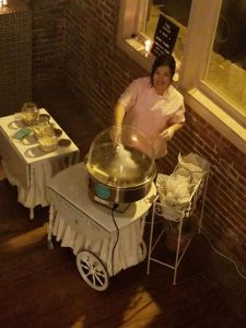 An event caterer who makes gourmet cotton candy located in Sulphur, Louisiana near Lafayette, LA.