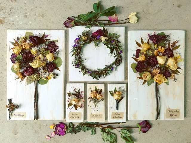 Wedding Gifts Preservation Of Flowers By Petal Press Decor Lafayette