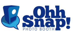 Ohh Snap Photo Booth logo, a Photo Booth company located in Lafayette, Louisiana.