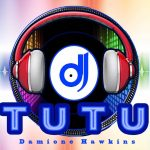 The logo for DJ TuTu Professional DJ Service located near Lafayette, Louisiana.