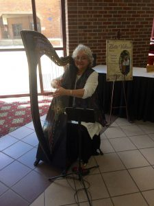 Harpist Bette Vidrine, a wedding harpist located in Lafayette, La.