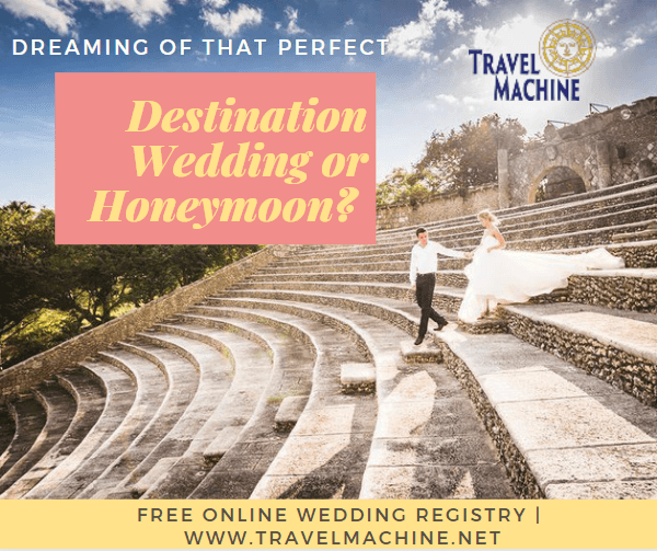 Travel Machine, LLC is a travel agent in Lafayette, Louisiana, who can plan your honeymoon or plan your destination wedding.