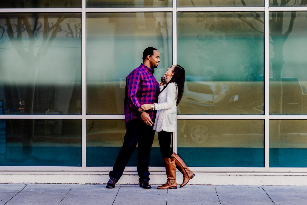 Acadiana Photography bride and groom engagement photos