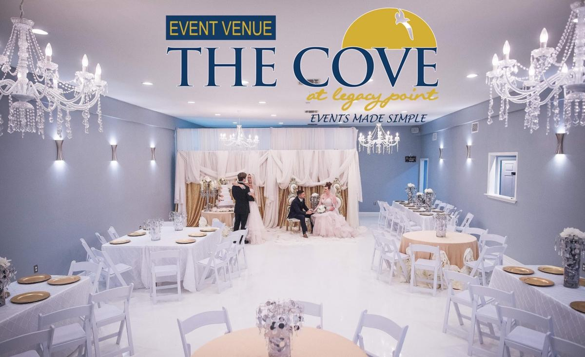 The Cove wedding setup (1)