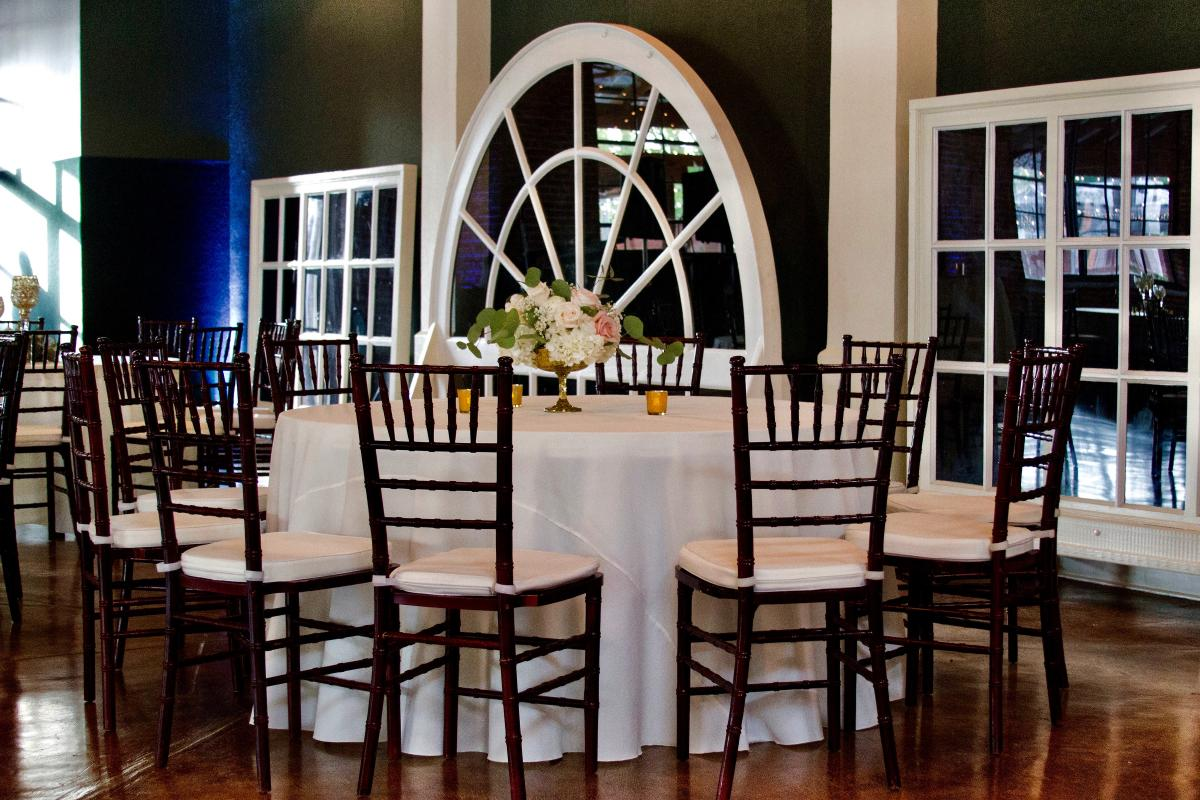 The Magdalen Place wedding tables