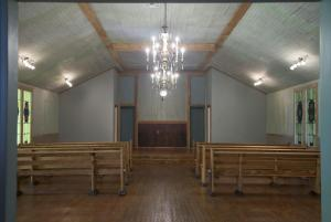 Louisiana Venue and Chapel located near Lafayette, Louisiana Woodland Chapel indoor view