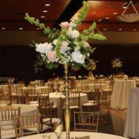 Wedding Venue UL Lafayette Louisiana wedding reception setup