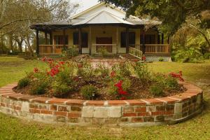 Woodland Chapel outdoor view for wedding and events near Lafayette, Louisiana