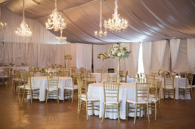 Lafayette Wedding Venue ‌in Broussard The Victorian Plantation Wedding Reception Setup
