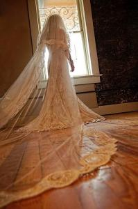 Amazing bride in the dressing suite at the wedding venue called, The Crossing at Mervin Kahn, located near Lafayette, Louisiana in Rayne.