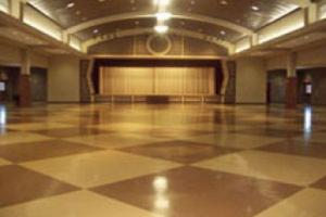 Wedding venue in Cade, Louisiana near Lafayette, Louisiana indoor view undecorated