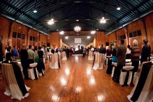 Awesome historic wedding venue The Madison which is located in Lafayette, Louisiana during a wedding ceremony.