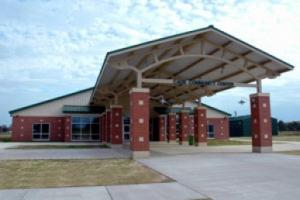 Louisiana wedding Facility Cade Community Center near Lafayette outdoor view