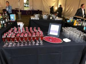 A wonderful wedding vendor setup by Mixx Media Bartending located in Lafayette, Louisiana.