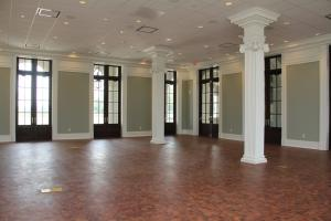 A view of the interior of the wedding venue, The Majestic Hall at Walnut Grove located in Lake Charles, Lousiana.