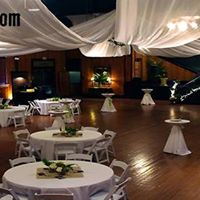 Awesome wedding setup and decorations at The Madison, located in Broussard, Louisiana near Lafayette.