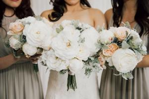 A beautiful Sophia series made by wedding florist, Something Borrowed Blooms, located near Lafayette, Louisiana.