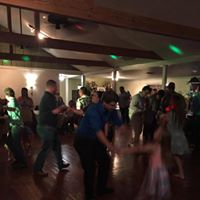 A wedding reception indoor at Brent's Catering and Wedding venue in Sunset, Louisiana.