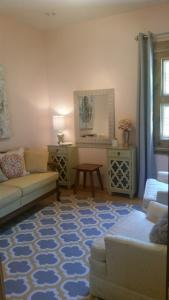 A photo of the bridal suite at the wedding venue, Woodlawn Chapel, located near Lafayette, Louisiana.