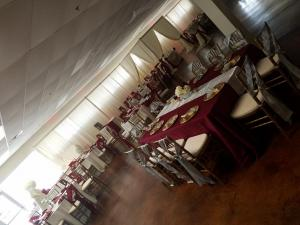 Xclusive Events wedding venue located in sunset louisiana is decorated for a wedding
