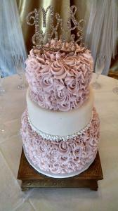 A Taste of Heaven Wedding cake 2