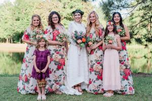 Acadiana Photography brides and bridesmaids