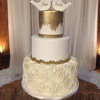crystal wedding cake 4